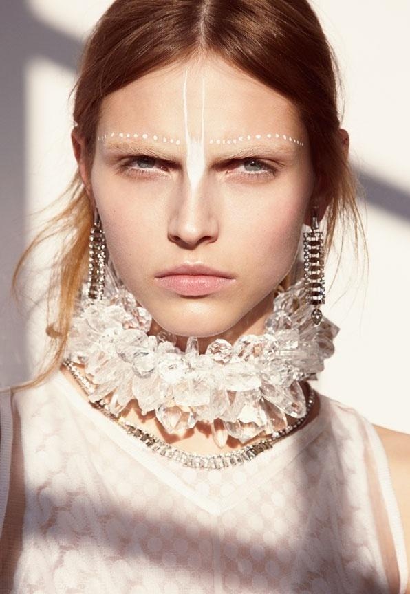 Mixte Spr/Sum 2013 Karlina Caune by Carlotta Manaigo #white #necklace