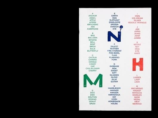 Alphabet : Rollo Press™ #riso #rollo #publication