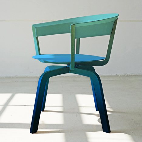 Bikini Wood by Werner Aisslinger for Moroso #chair #gradient