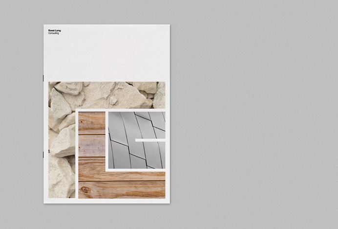 Rossi Long Consulting by Matthew Hancock #print #graphic design #editorial