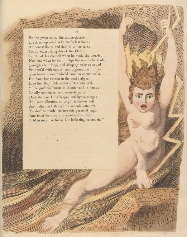 Night Thoughts of William Blake - 50 Watts #illustration