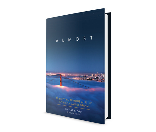 Almost, by Hap Klopp, book design by The Frontispiece #cover #book