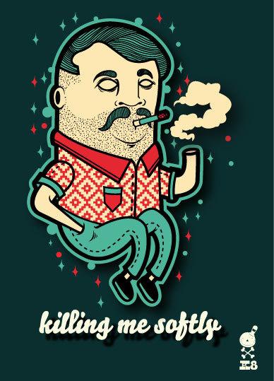 KORCHO #smoking #korcho #art #ilustracin