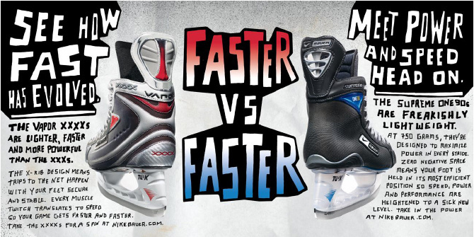 Best Posters Layout Nike Bauer - images on Designspiration