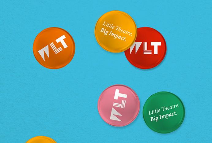 Wigan Little Theatre by Alphabet #print #graphic design #pin