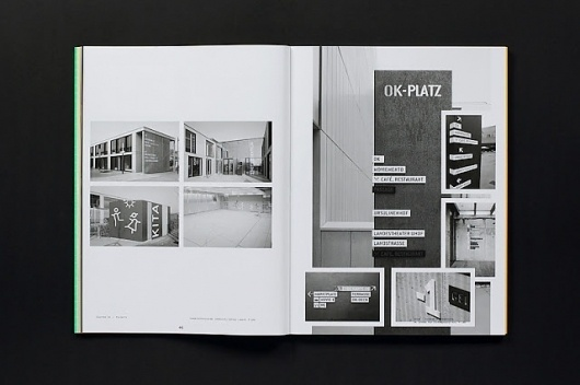 MagSpreads - Magazine Design and Editorial Inspiration: Slanted Magazine #18 – Signage / Orientation