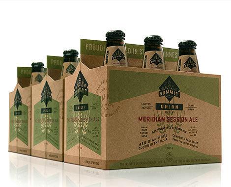 Summit Brewing Meridian Ale #packaging #beer