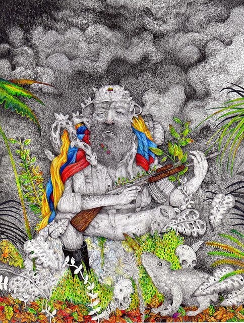 by Señor Real #draw #illustration #colorful