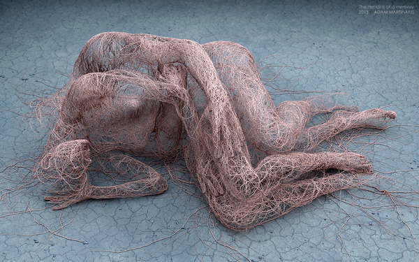 Digital Artworks by Adam Martinakis Explore Photo Realistic Surrealism #digital #surrealism #sculpture #art