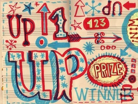 Lettering Sketchbook : Linzie Hunter, Illustration & Hand Lettering #lizie #illustration #hunter #typography