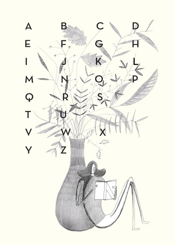 line #alphabet #pencil