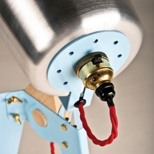 oliver hrubiak: frank table lamp #lamp