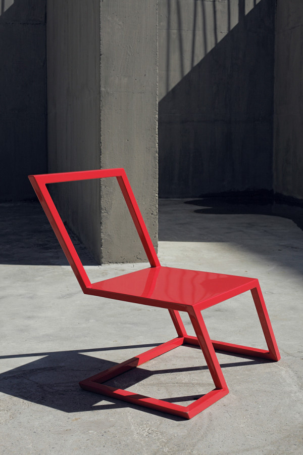 Sit On the Edge of Your Seat with the 60 Red Chair in main home furnishings Category #chair