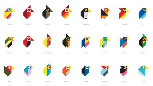 Tony Buckland : Designer : mono #birds