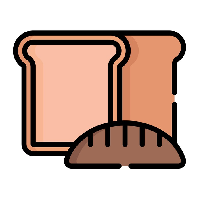 See more icon inspiration related to bread, breakfast, toast, food, bakery and meal on Flaticon.