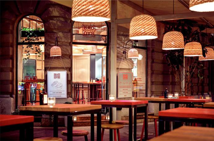 Baobao Asian Restaurant Decor - #restaurant, #decor, #interior,