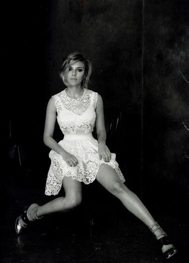 Peter Lindbergh for Vogue China April 2011 : Scarlett Johansson - COLT + RANE #vogue #lindbergh #scarlett #johansson #peter #china