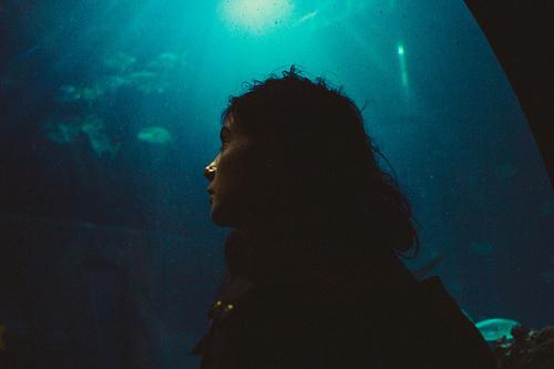 ()()() by Louis Hvejsel Bork #hvejsel #bork #photography #louis #blue #light #underwater