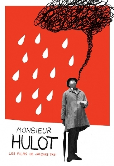 MONSIEUR HULOT - Adrian Walsh - Design and Illustration #cigar #swiss #white #red #photoreal #black