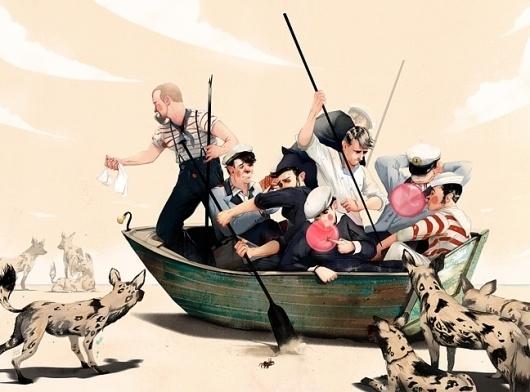 shipfools_blog.jpg 648×480 pixels #ship #jonathan #boat #bartlett #bubblegum #hyena