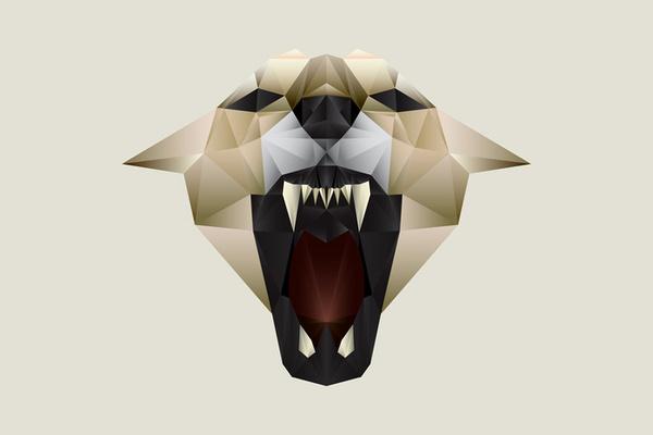Nacho Gil #polygon #animal #cougar