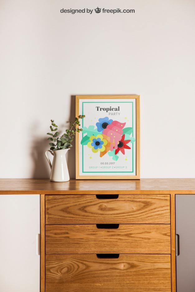 Frame next to plant on desk Free Psd. See more inspiration related to Flower, Frame, Mockup, Floral, Wood, Template, Table, Floral frame, Mock up, Plant, Decoration, Creative, Desk, Flower frame, Interior, Plants, Decorative, Wooden, Creativity, Pot, Up, Decor, Wood frame, Wooden table, Flower pot, Next and Mock on Freepik.