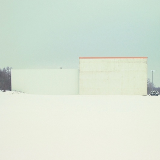 Snow Blind on the Behance Network #minimalism #heiderich #photography #architecture #matthias