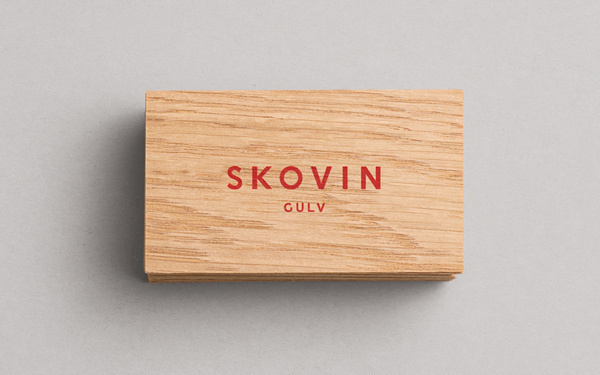 Skovin Gulv on Behance #logo #print #cards #business