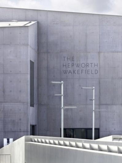 The Hepworth Wakefield identity by APFEL - Creative Journal #apfel #hepworth #wakefield #the