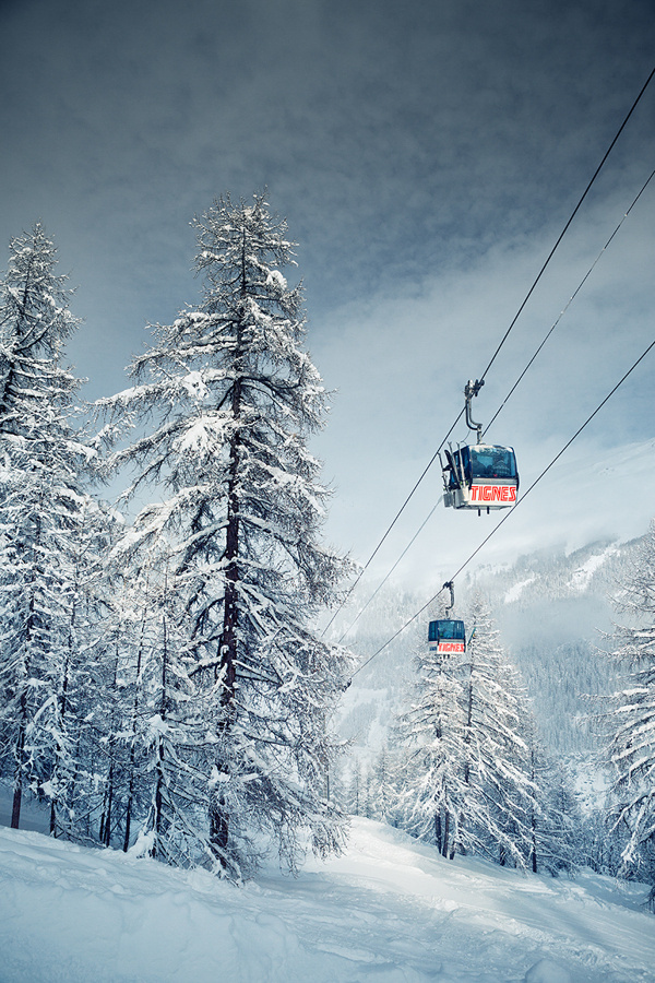 European Alps on Photography Served #gondla #skiing #photography