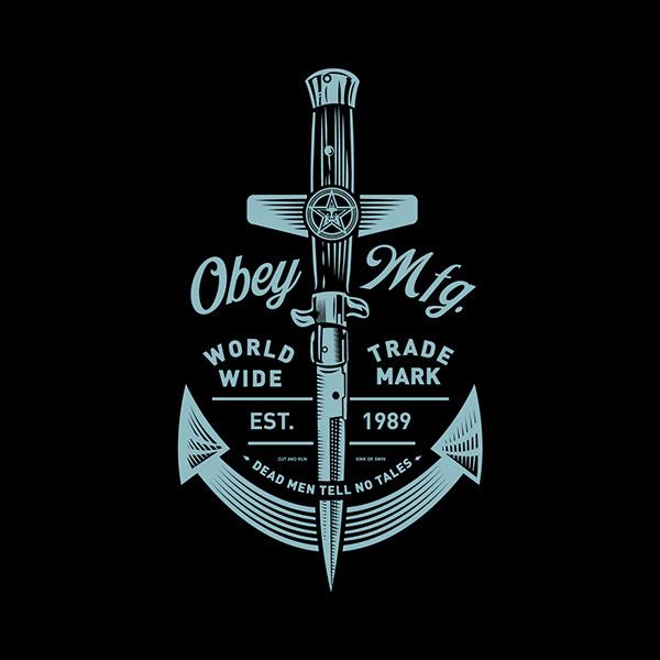OBEY SPRING '15 on Behance #branding #illustration #identity #logo #obey