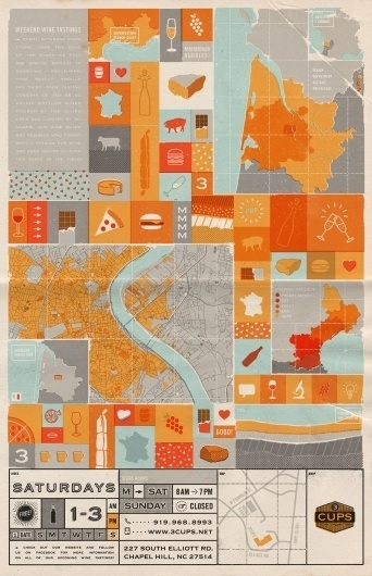 tumblr_lz915xPN1R1qbbjfyo1_1280.jpg (1242×1920) #vector #icons #wine #map #texture #grid #food #halftones #poster #typography