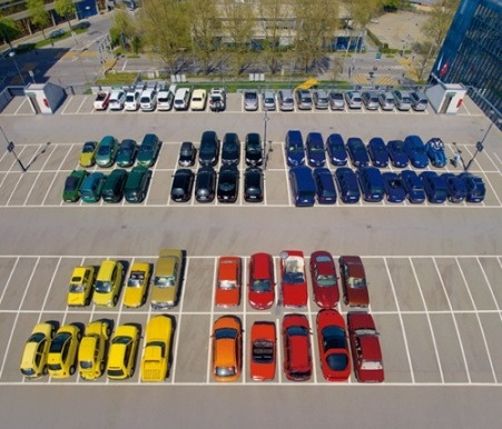 The art of Clean - HouHouHaHa #organization #cars #roygbiv