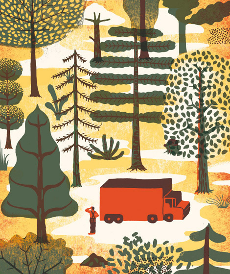 sarah mazzetti #illustration #silkscreen