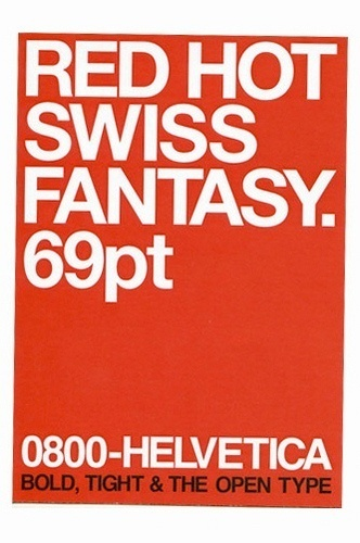 Type Tart | Flickr - Photo Sharing! #helvetica #swiss