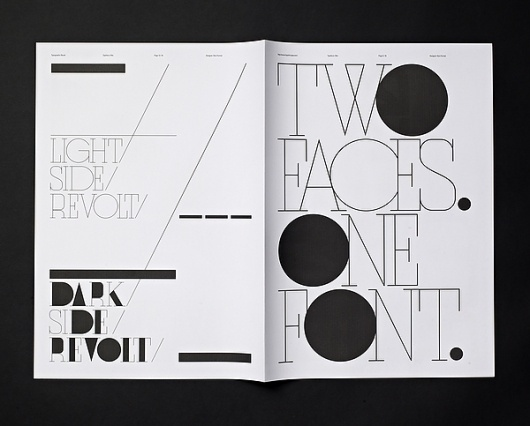 Typographic Revolt - HypeForType Typefaces on the Behance Network #font #typeface #poster #typography