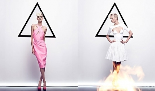 The Ad Campaigns of Spring 2012 -- The Cut #fashion #geometry #white