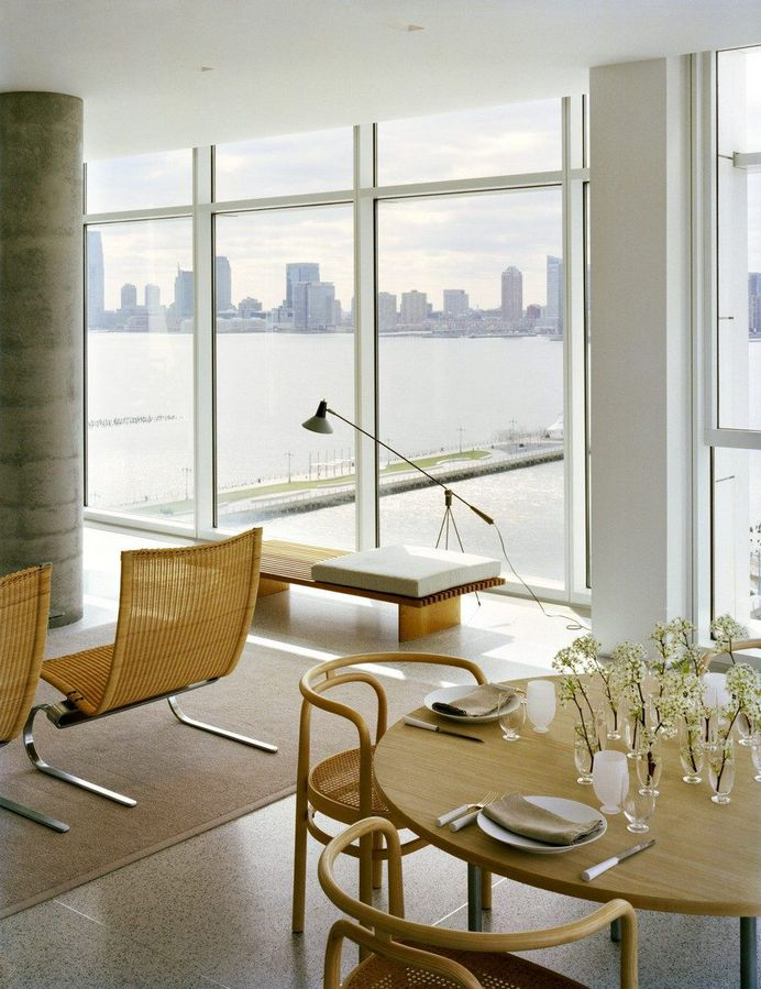 Hudson River Apartment in Manhattan by SheltonMindel 5