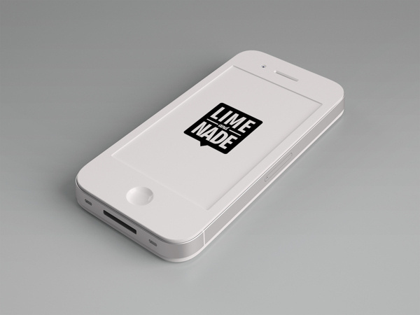 Lime & Nade Identity #iphone #design #branding