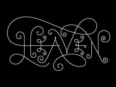 Dribbble - Pearly Gates by Matt Chase #type #lettering