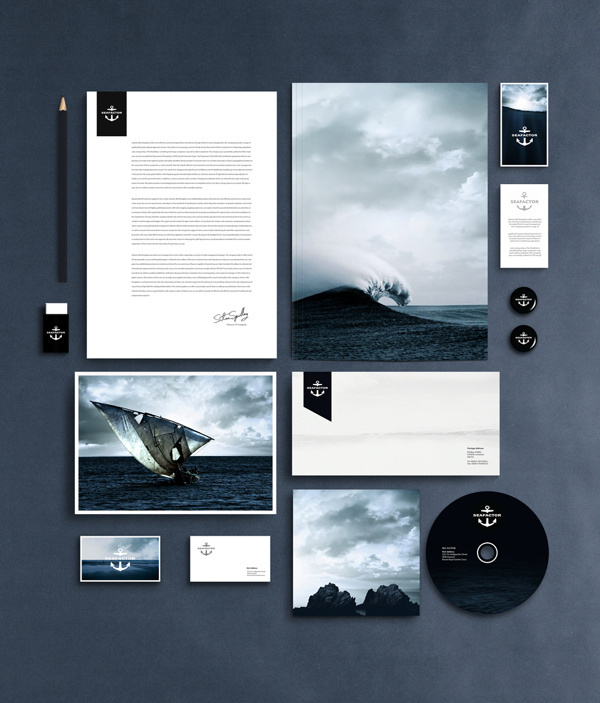 Seafactor on Behance #design #package #corporate #iphone #product #identity #logo #magazine