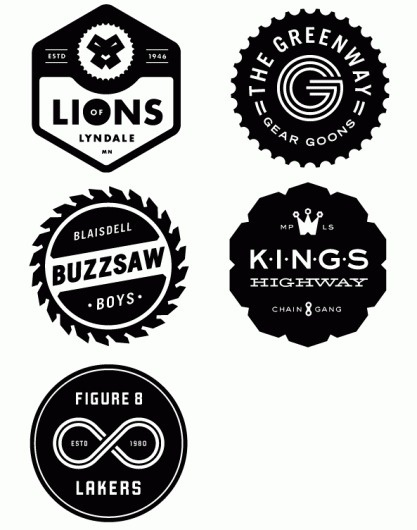 Eight Hour Day » Blog #gangs #logos #bike