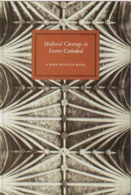 Penguin Books - Medieval Carvings in Exeter Cathedral #covers