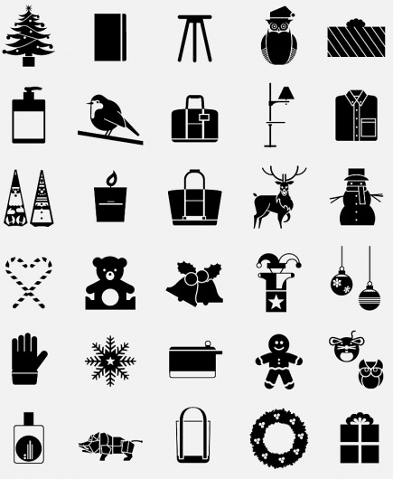 Monocle Christmas decoration | Hey #monocle #icons #symbols