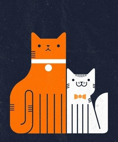 Baubauhaus. #illustration #cat