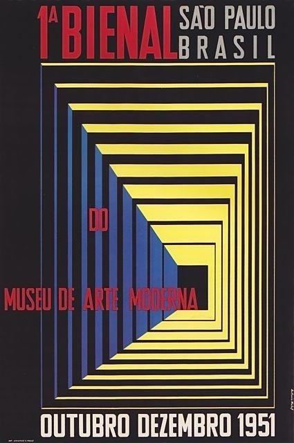"MONDOBLOGO: ""constructive art"" posters from brazil #1950 #poster"
