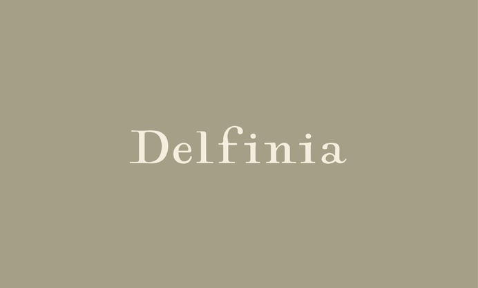 DELFINIA high end luxury home furnishings bedding towels one kings lane Logo and Branding - Logos | Strohl Inc | A San Francisco Brand