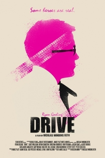 Minimal Movie Posters #print #drive #poster #film