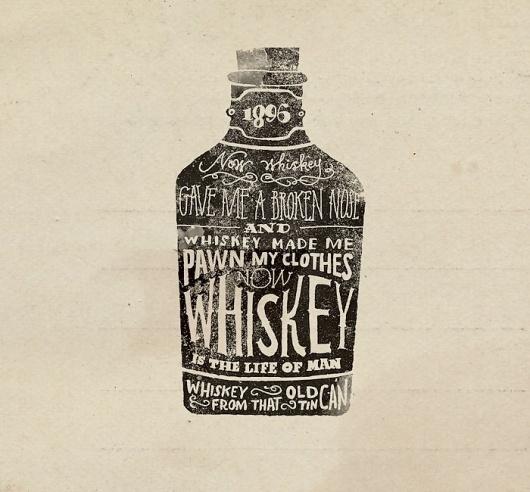 cxxvi10_1000.jpg (700×650) #whiskey #illustration #drawn #hand #typography