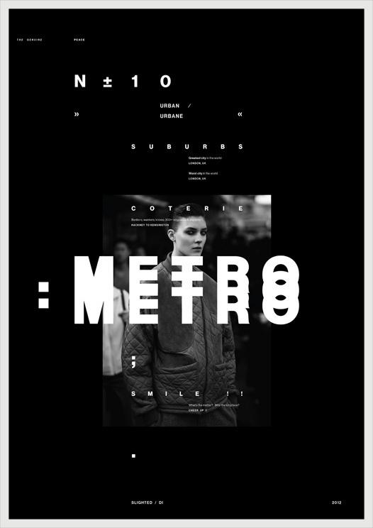 METRO #poster
